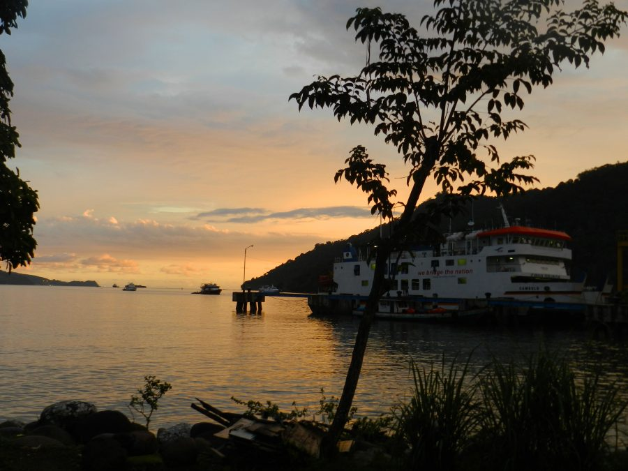 sunset toba