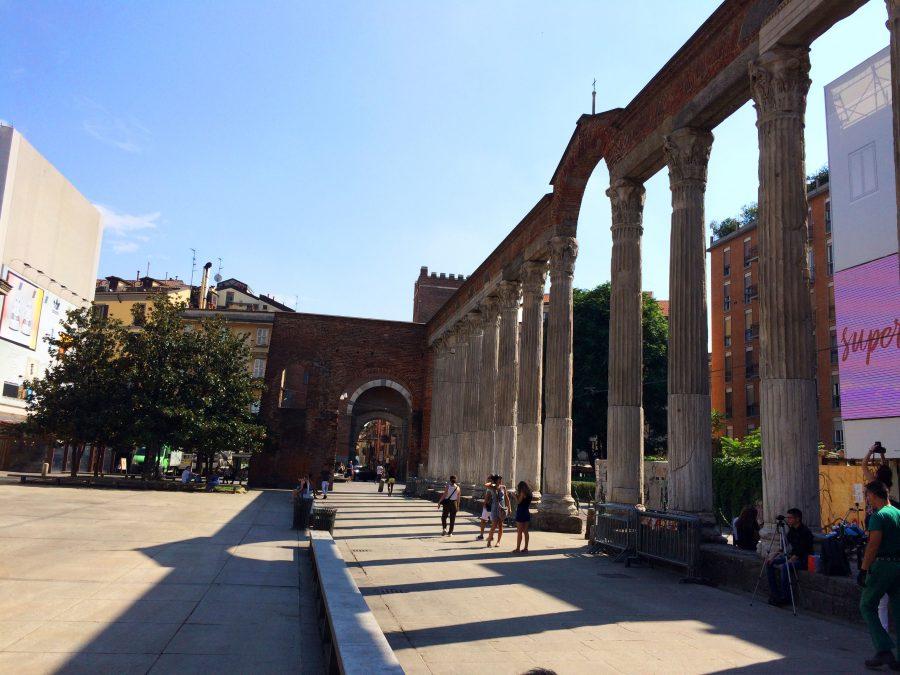 colonnes san lorenzo