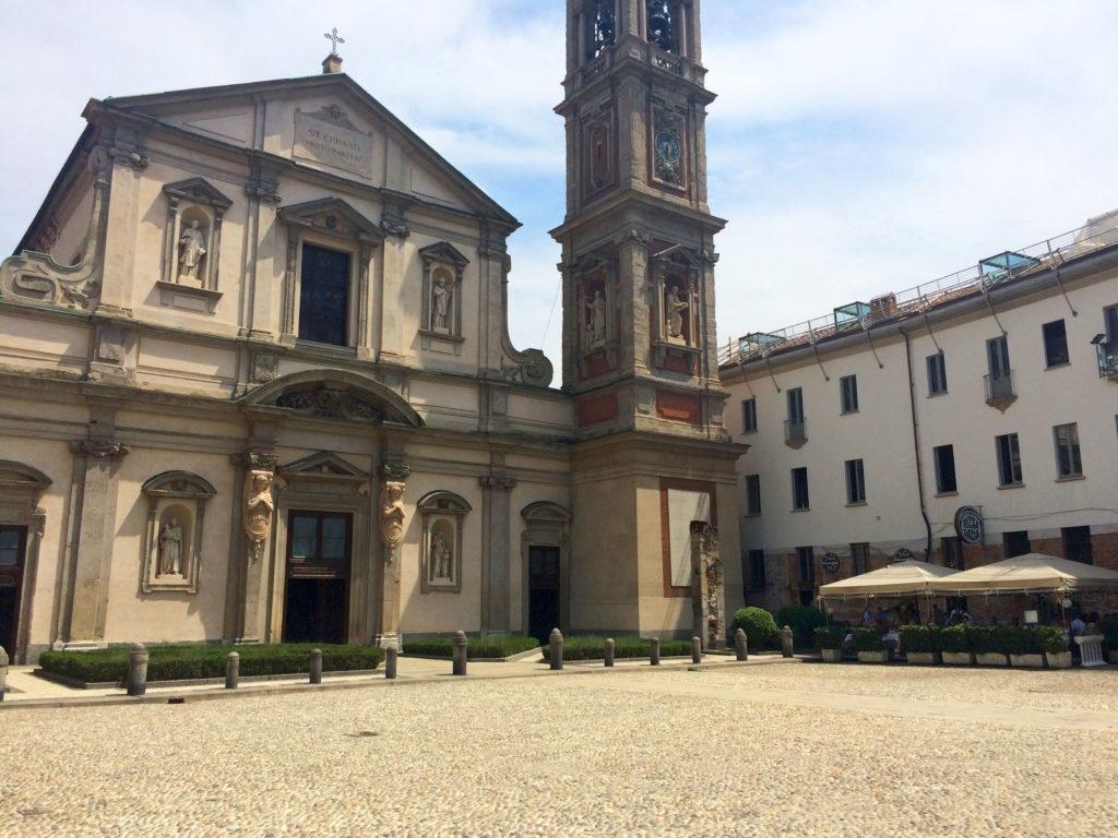 milan piazza santo stefano