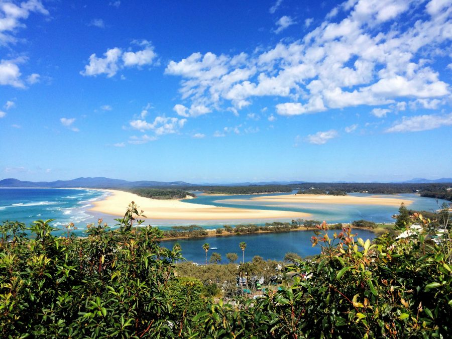 captain cook lookout australie