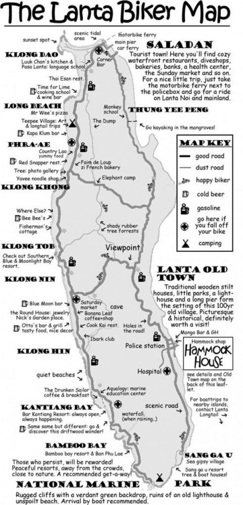 lanta biker map