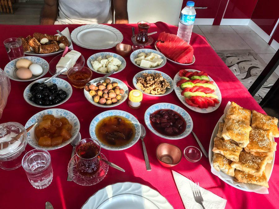 repas turc typique